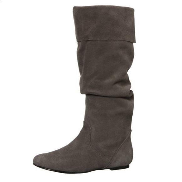 580f052a76a Steve Madden bonanza suede black pull on boot